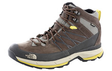 The North Face Wreck  chaussures randonnée Homme Mid, GTX jaune/marron